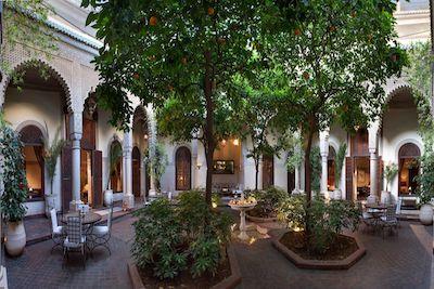 VILLA DES ORANGERS Marrakech 1a